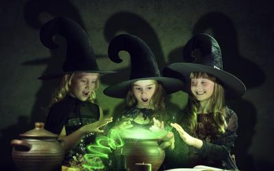 Le monde des petits sorciers