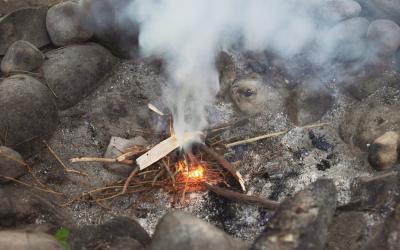 Voyage autour du feu
