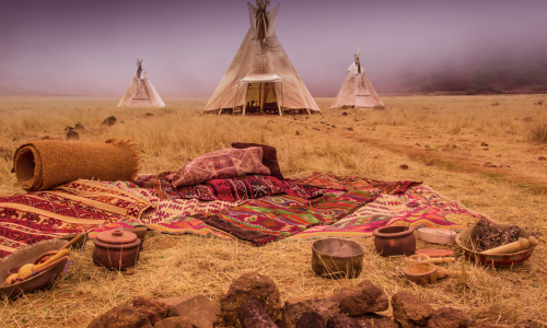 Dans la peau des Amérindiens