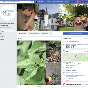 Notre Facebook, notre actualité environnementale  !