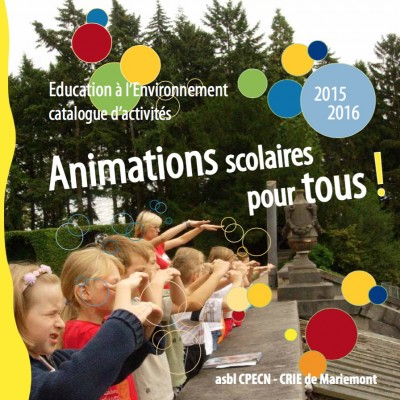 Catalogue des animations en Environnement