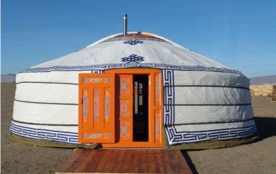 Retour d'une yourte mongole dans le jardin du CRIE